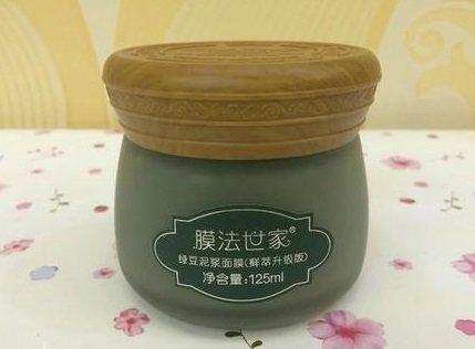 膜法世家的绿豆泥浆面膜怎么样_膜法世家绿豆泥面膜测评