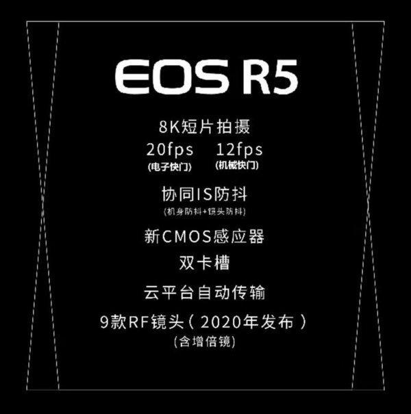 佳能eos r5参数_佳能eos r5评测