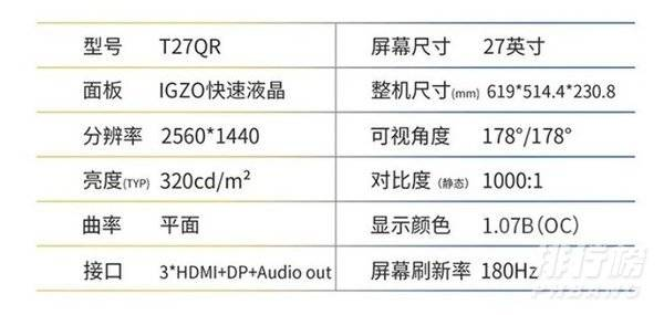 泰坦军团T27QR评测_泰坦军团T27QR值得买吗