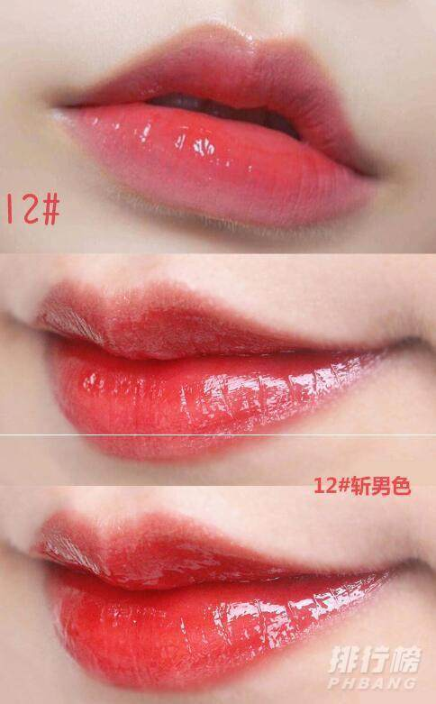 ysl镜面唇釉12和圆管的区别_ysl镜面唇釉12试色