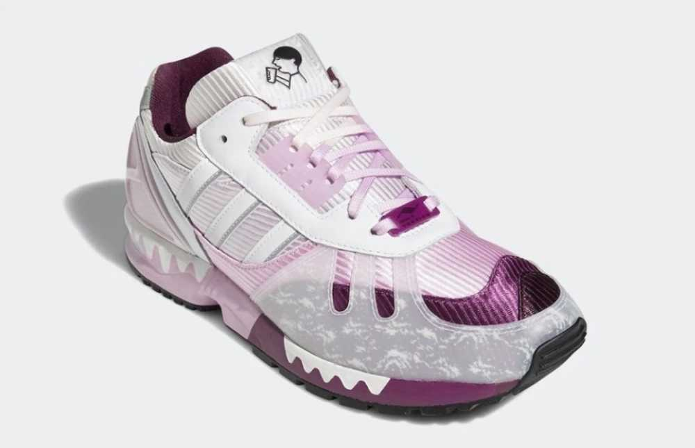 阿迪达斯喜茶联名鞋ZX7000粉紫配色_阿迪达斯喜茶联名鞋详情