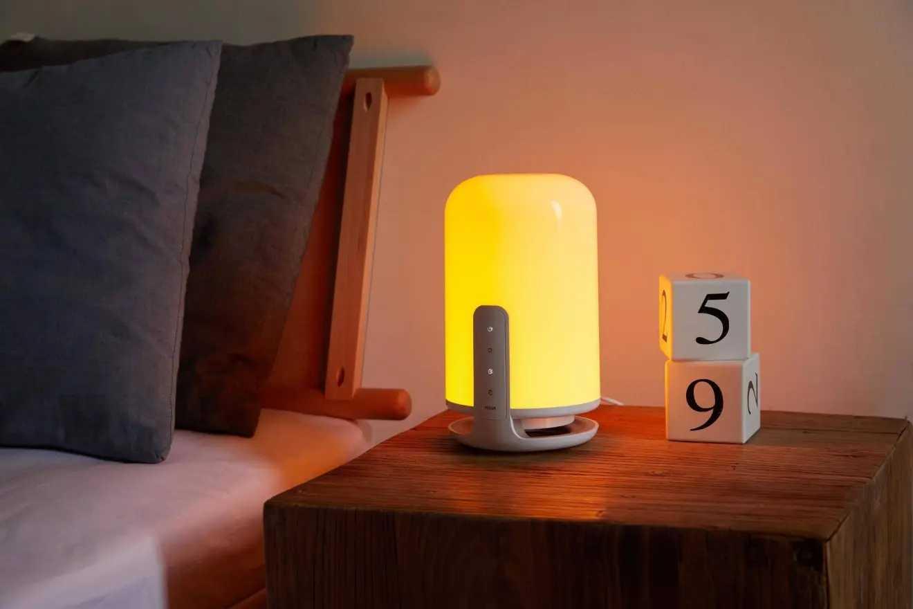 米典零蓝光床头助眠灯测评好用嘛_米典零蓝光床头助眠灯测评