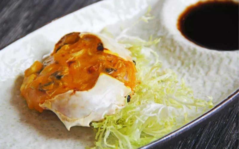 黄油焗大闸蟹做法_焗螃蟹怎么做好吃