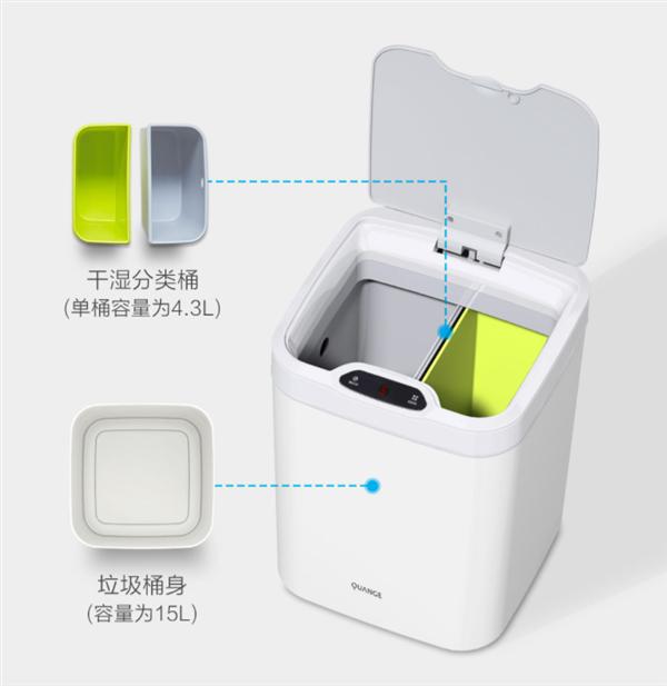 全格感应分类垃圾桶GA1怎么样_格感应分类垃圾桶GA1值得买吗