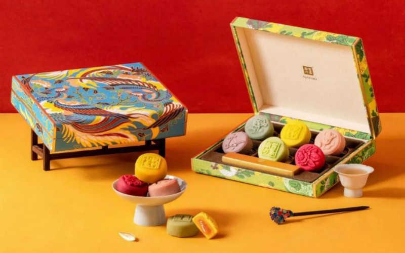 奈雪的茶月饼礼盒价格2020_奈雪的茶月饼礼盒什么价位