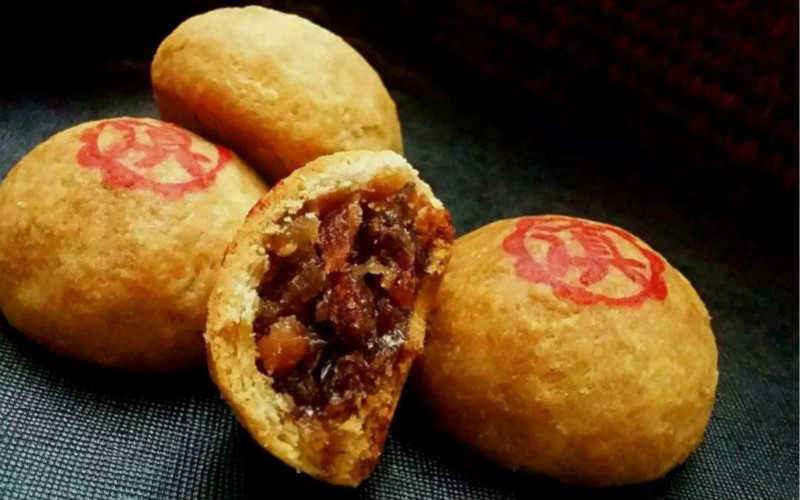 玫瑰云腿月饼的做法窍门_正宗云南火腿月饼的做法窍门