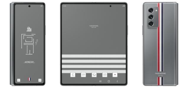 三星Galaxy Z Fold2 Thom Browne限量版正式推出