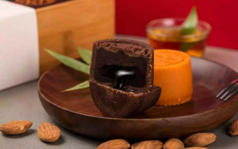 巧克力流心月餅的做法及配方_巧克力流心月餅怎麽做好吃