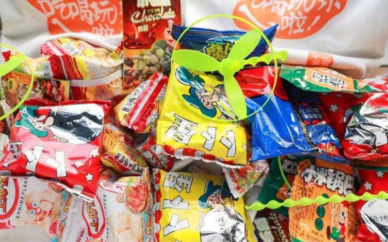 90年代的零食大全怀旧图片_90年代的儿童零食