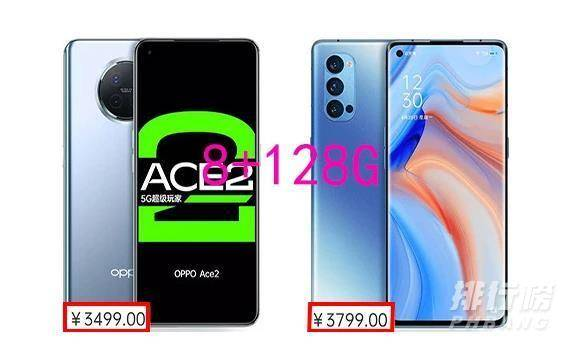 opporeno4pro和ace2哪个更好_opporeno4pro和ace2哪个性价比高