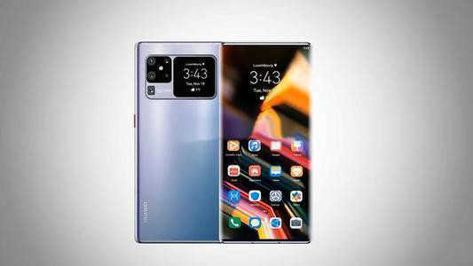 華爲P50Pro圖片_華爲P50Pro手機概念圖