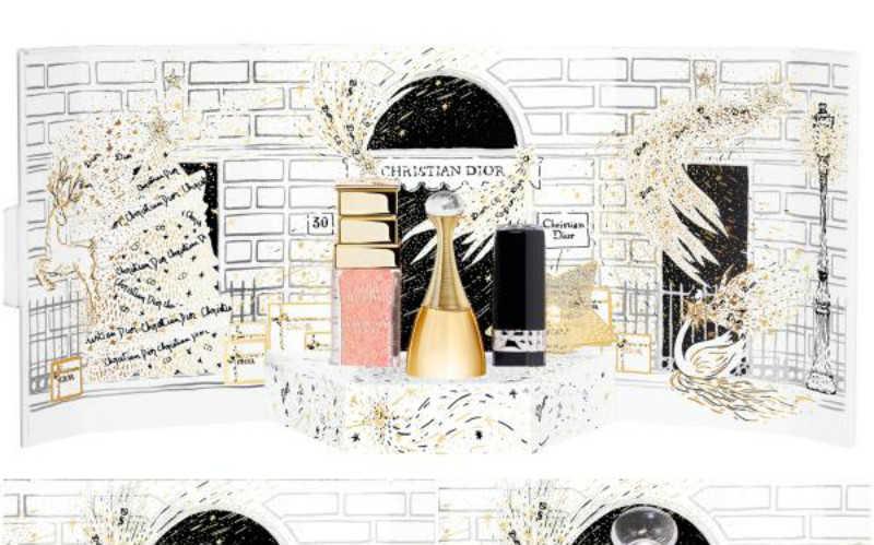 DIOR圣诞香氛礼盒2020_迪奥圣诞节限量款香水价钱