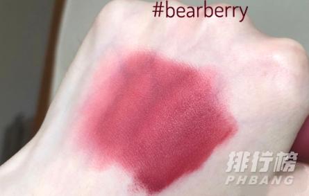 3ce唇釉bearberry试色_3ce新品唇釉bearberry什么颜色