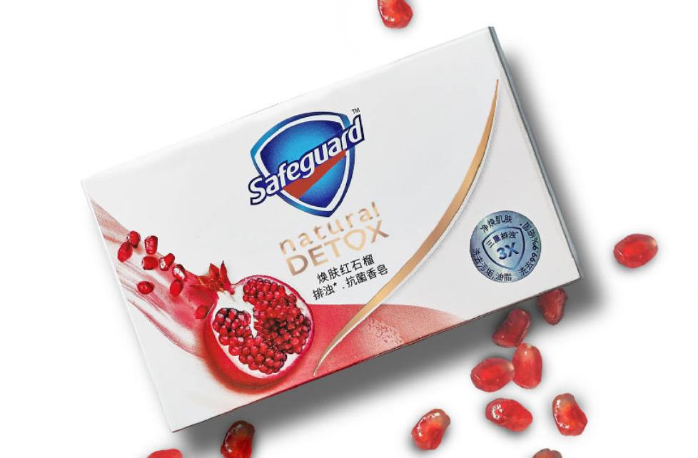 舒肤佳红石榴香皂有什么功效_石榴味舒肤佳能洗脸吗
