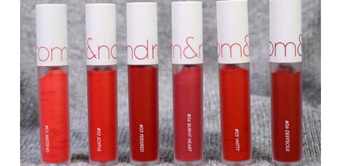 romand唇釉和3ce哪个好用_romand唇釉和3ce唇釉的区别