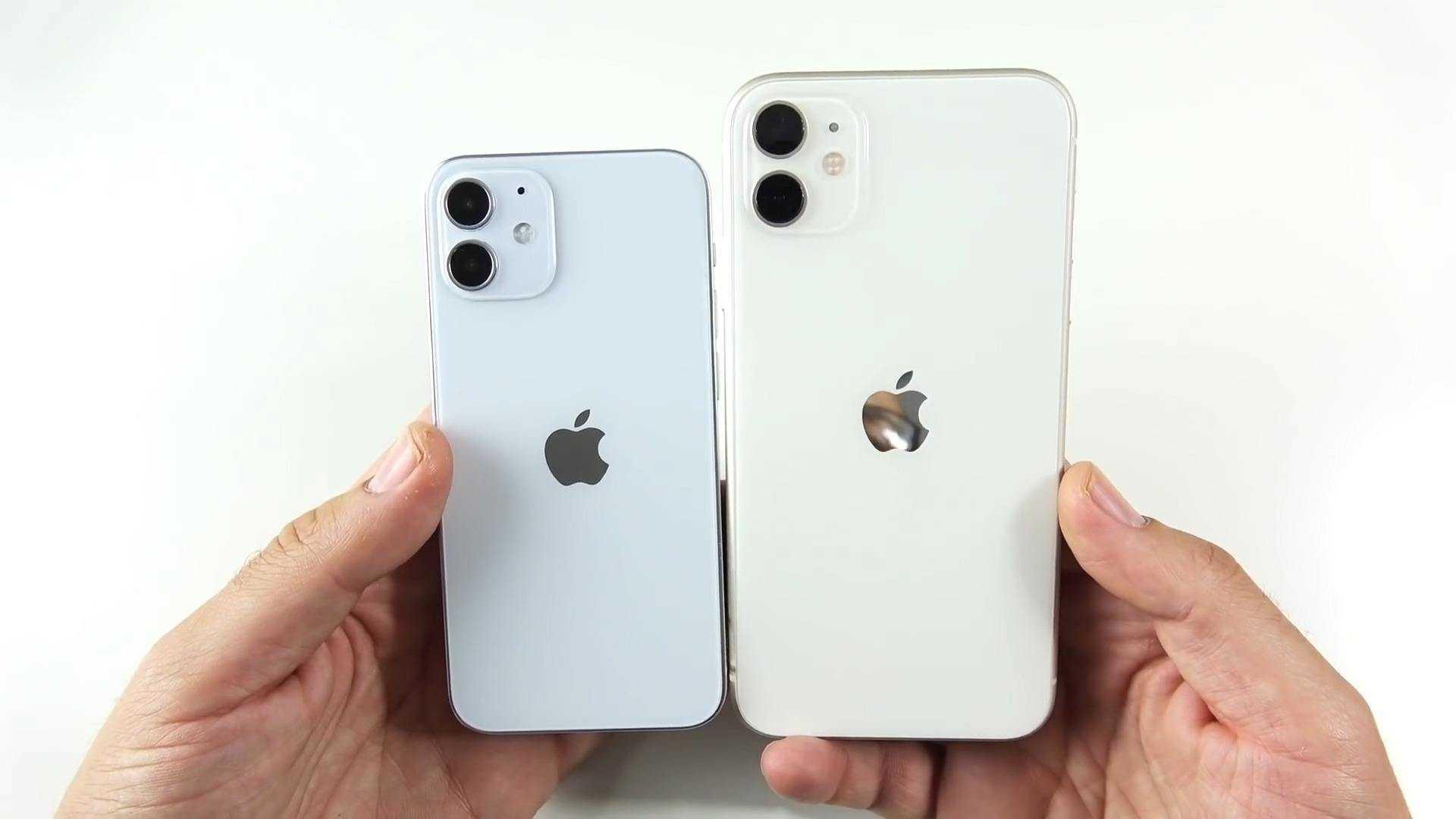 iphone12mini和6s大小对比_iphone12mini和6s一样大吗