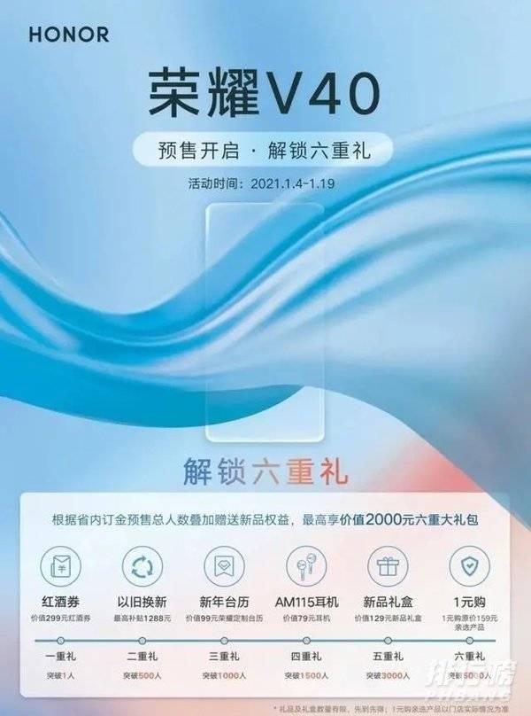 荣耀v40系列最新消息_荣耀v40系列发布时间