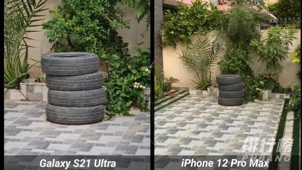 三星s21ultra和iphone12promax拍照对比,哪个更好?