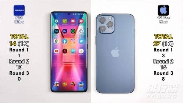 三星s21ultra和苹果12promax哪个好_三星s21ultra和苹果12promax那个更值得入手
