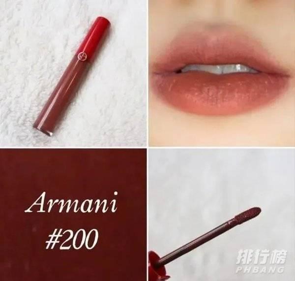 阿玛尼唇釉色号推荐_阿玛尼唇釉必入色号排行榜
