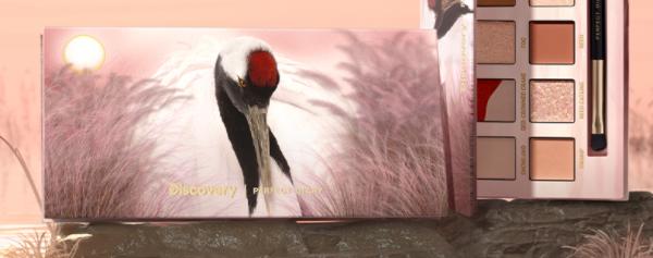 完美日记丹顶鹤眼影盘试色_完美日记丹顶鹤眼影盘哪个颜色好看