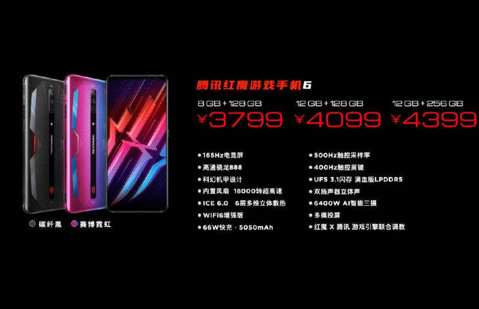 红魔6屏幕供应商_红魔6是用三星屏吗