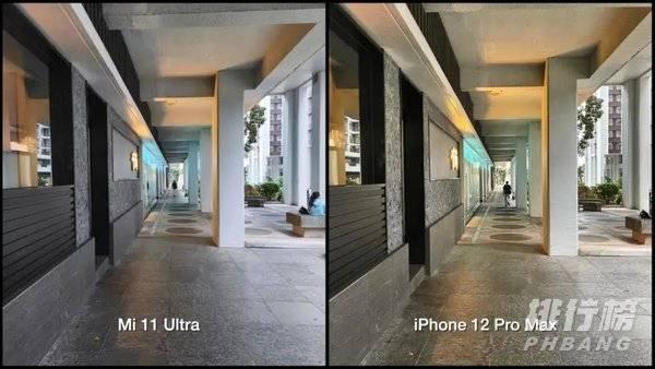 小米11Ultra和iPhone12ProMax拍照对比:哪个拍照好看?