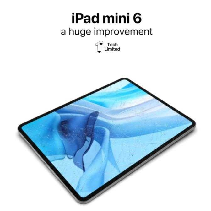 iPad mini6曝光_iPad mini6屏幕大改