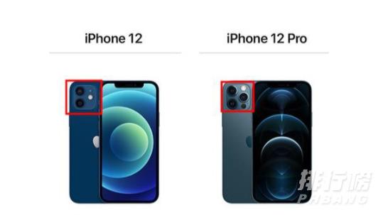iphone12和iphone12pro有什么区别?参数配置对比