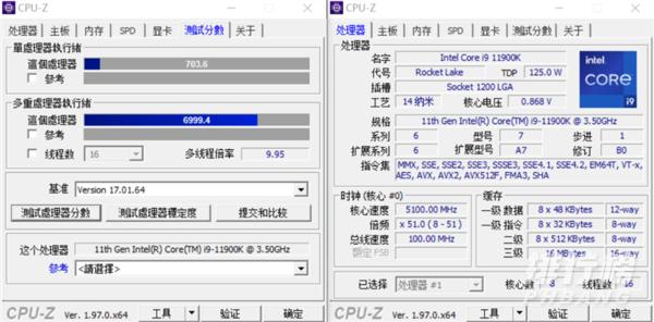 r95900X和i911900k哪个好_哪个更值得买