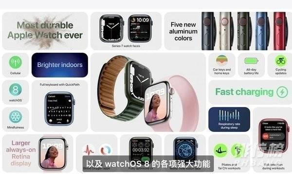 apple watch series 7和6的区别_哪个更值得入手