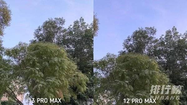iphone13promax和iphone12promax拍照对比_哪个拍照好