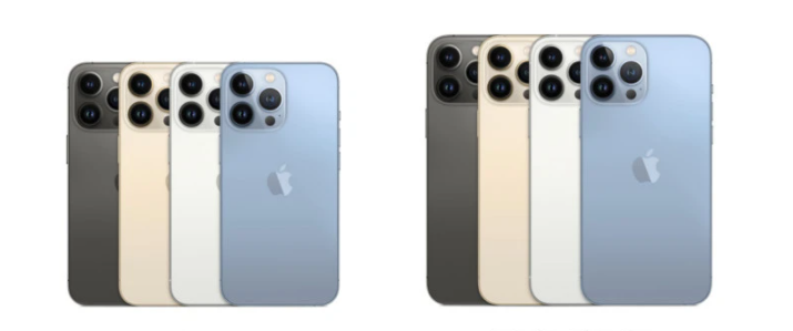 苹果13Pro和苹果12Pro区别_有哪些提升