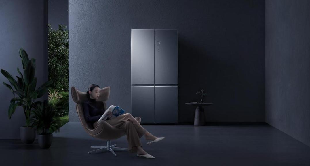 米家十字四门冰箱尊享版550L上市时间及价格