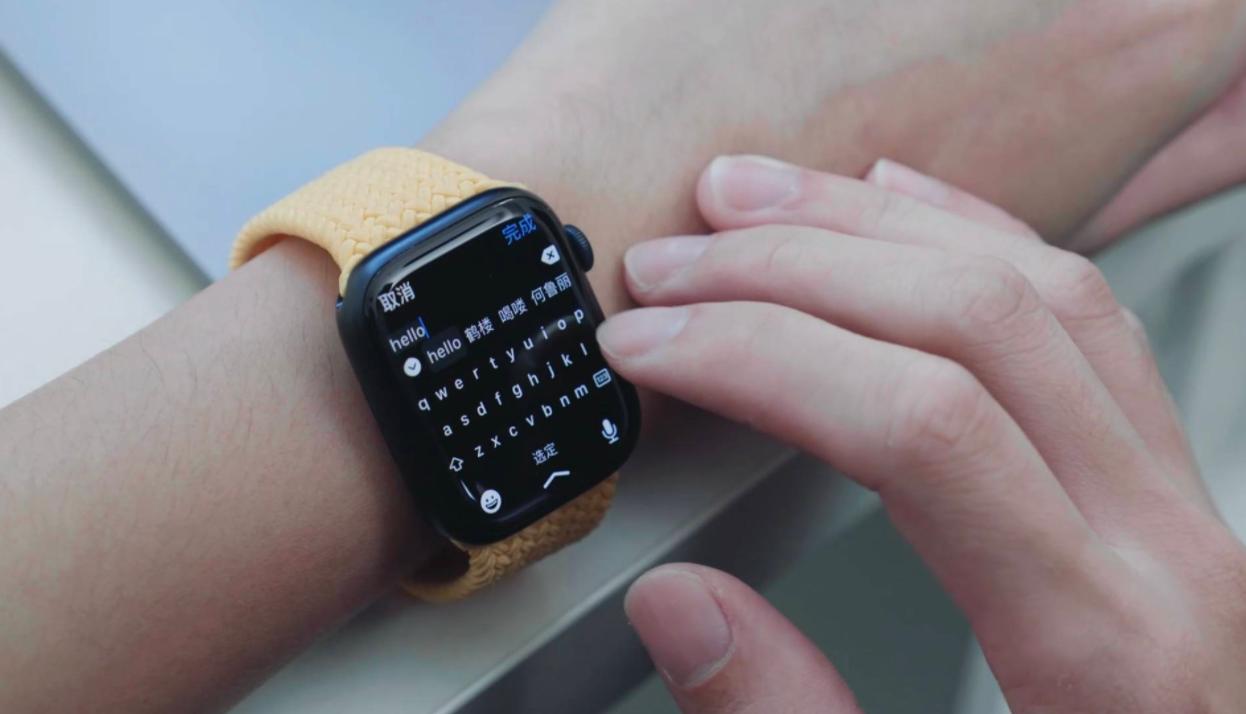 苹果watch7可以用微信吗_苹果手表7可以回微信吗