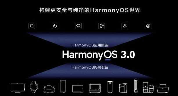 鸿蒙OS3.0什么时候发布_鸿蒙OS3.0发布时间